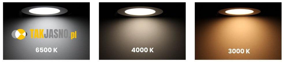 zalety LED barwa swiatla